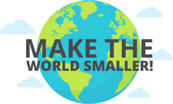 make the world smaller